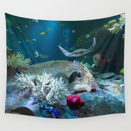 Sting Ray Wall Tapestry