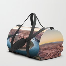 The Bend - Horseshoe Bend During Southwestern Sunset Duffle Bag