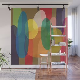 Round and Furious Wall Mural
