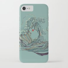 Kissing The Wave iPhone 7 Slim Case