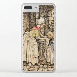Arthur Rackham - The Wind in the Willows (1940) - A shawl around Toad Clear iPhone Case