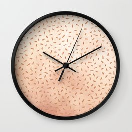Rose Gold Party Wall Clock