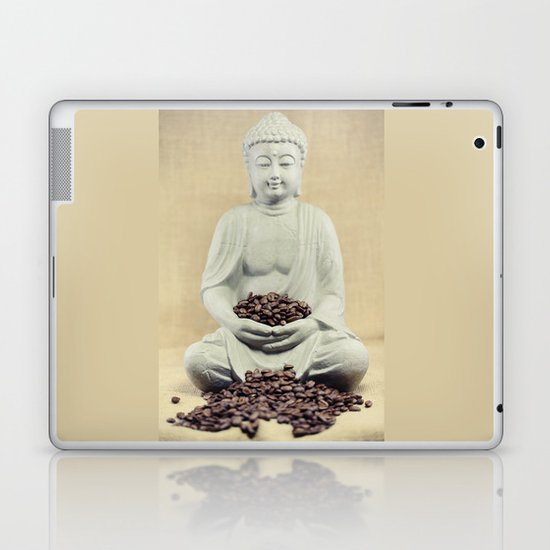 Coffee beans Buddha 3 Laptop & iPad Skin