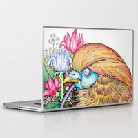 wesley bird Laptop & iPad Skins featuring BIRD by • PASXALY •