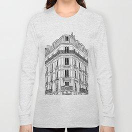 Parisian Facade Long Sleeve T-shirt