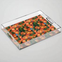 Florida Oranges Acrylic Tray