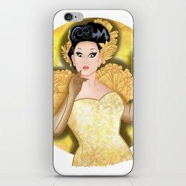 Golden BenDeLaCreme iPhone Skin