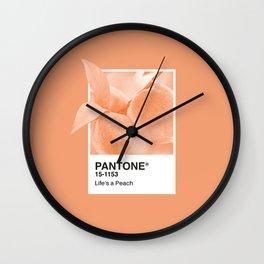 Pantone Series – Peach #2 Wall Clock
