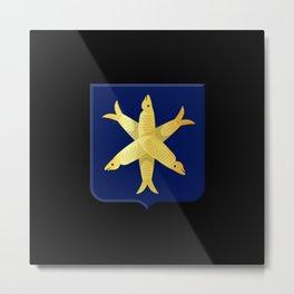 Coat of arms of Zandvoort Metal Print