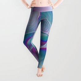 Colorful Beauty, Abstract Fractal Art Leggings