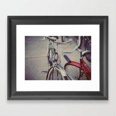 Summer Rides Framed Art Print