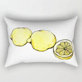 Trois Citrons 2 Rectangular Pillow