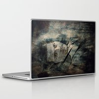 castiel Laptop & iPad Skins featuring Castiel by Sirenphotos