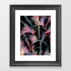 Maui Palm {Black A} Framed Art Print