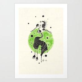 29. Zombies Art Print