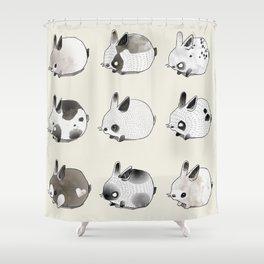Little Bunnies Shower Curtain