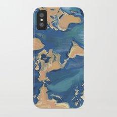 World Map iPhone X Slim Case