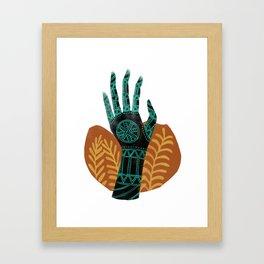 Goddess of the First Harvest Framed Art Print