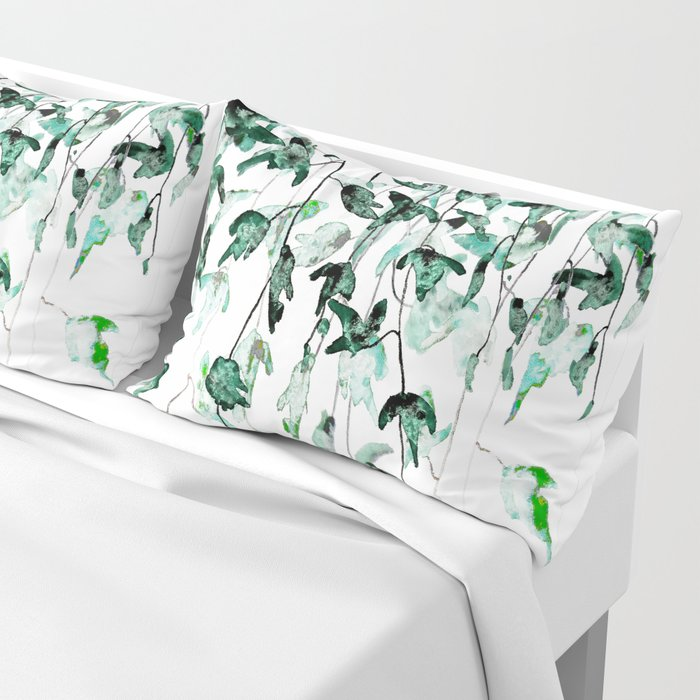 Ivy on the Wall Pillow Sham