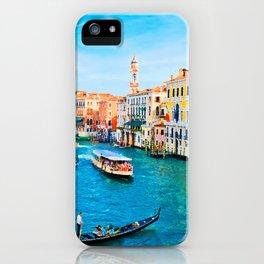 Italy. Venice lazy day iPhone Case