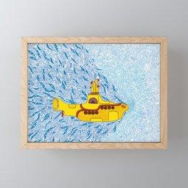 My Yellow Submarine Framed Mini Art Print