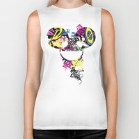 paramore Biker Tanks featuring Deadmau5 by Sitchko Igor