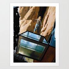 Quantum Leap of Faith Art Print