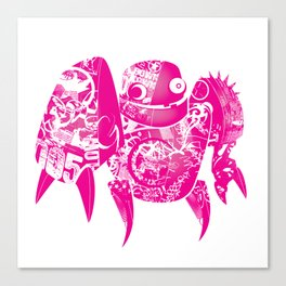minima - slowbot 005 Canvas Print