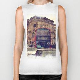 Southwark Scene - London England Biker Tank