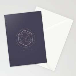 Despiteful - Wicked Geometry Series Stationery Cards