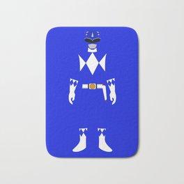Power Ranger Blue Bath Mat