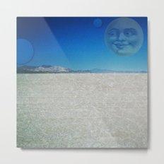 Playa Moon Metal Print