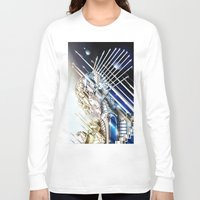 sci fi Long Sleeve T-shirts featuring Sci-Fi Series 1 by eos vector