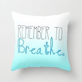 A Gentle Reminder Throw Pillow