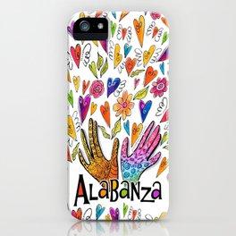 Alabanza iPhone Case