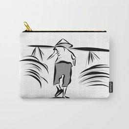 Vietnam Harvesting Time Carry-All Pouch
