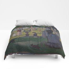 A Sunday on La Grande Jatte Comforters