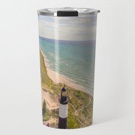 Lighthouse & Trail Travel Mug