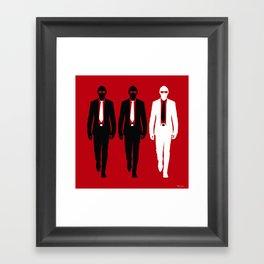 Threemen Framed Art Print