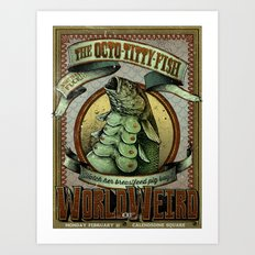 The Octo - Titty Fish Art Print