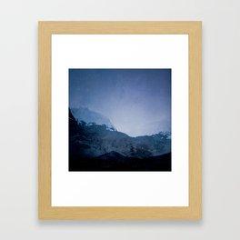 Good Evening, Ghosts Framed Art Print