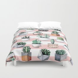 Cactus Pattern 02 Duvet Cover