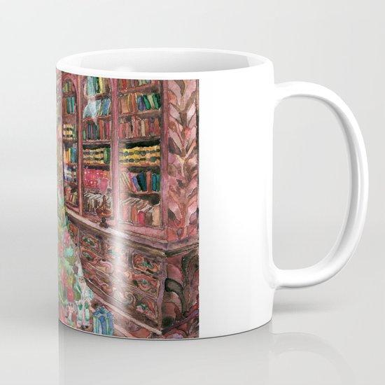 Bibliophile's Christmas Mug