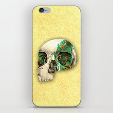 skull2 iPhone Skin