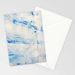 Dove Abstract Painting Stationery Cards