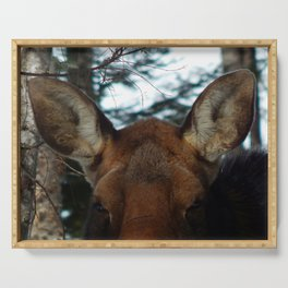 Moose Ears Serving Tray
