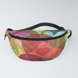 Heart Shaped Leaves Fanny Pack