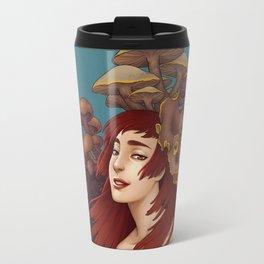Mushroom Lady Travel Mug