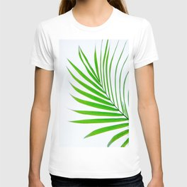 Simple palm leaves T-shirt
