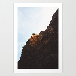 Rocks on the Oregon Coast Art Print